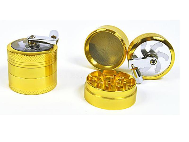 gro handel kurbelgrinder gold chrom 3 tlg. Black Bedroom Furniture Sets. Home Design Ideas