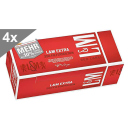 L&M Extra Red Label, 250 Hülsen, 4er Gebinde