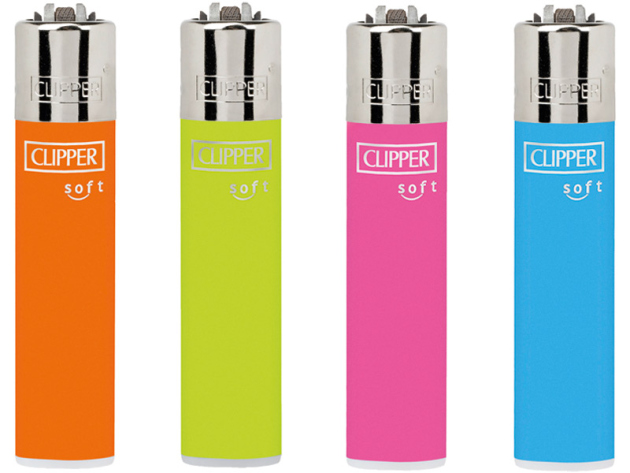 Clipper Large UNI SOFT TOUCH NEON, 48er Display