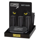 Clipper Metal Jet Flame Large  ALL BLACK mit Jet-Flamme,...