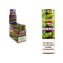 Cyclones Blunts Hemp Cones - PURPLE (Grape), 12x2er Display