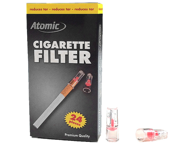 Atomic Zigarettenfilter Eco Pack, 24er Display
