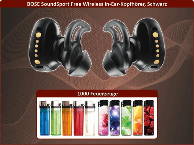 1000 feuerzeuge bose soundsport wireless in ear kopfh rer. Black Bedroom Furniture Sets. Home Design Ideas