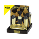 Clipper Metal BLACK & GOLD inkl. Geschenkboxen, 12er Display