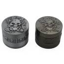Grinder Skull with Ivy, 4-tlg., 45 x 50 mm