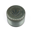 Grinder Grass Leaf 4-tlg., Metall, 37 x 51 mm