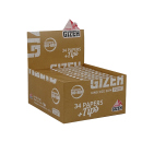Gizeh Pure King Size Slim 26 Hefte je 34 Blatt + 34 Tips