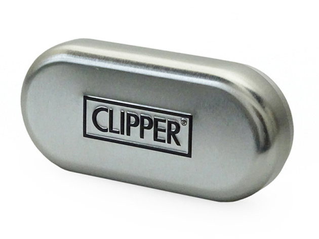 Clipper Metal CARBON inkl. Geschenkboxen, 12er Display