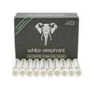 Pfeifenfilter White Elephant Aktiv-Kohle Superflow 9mm,...