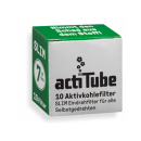 actiTube Slim Aktivkohlefilter 7mm 10er pack