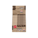 Gizeh Brown King Size Slim + Tips, 26 Hefte je 34 Blatt +...