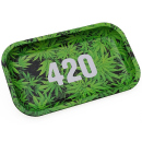 Metall Drehunterlage green 420 medium, 27x16x2 cm