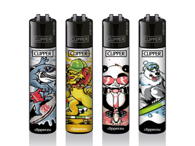 Clipper Large SPORTY ANIMALS, 48er Display