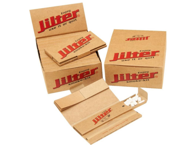 Jilter Smoke-Kit, Papers, Filtertips und Filter,12er Display