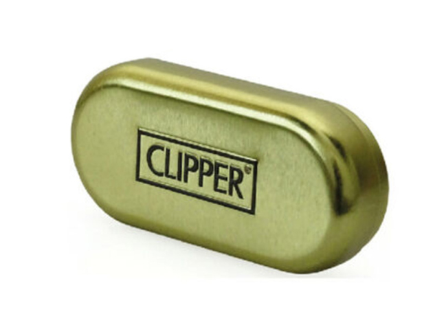 Clipper Metal Large Leaves Gold 12er Display