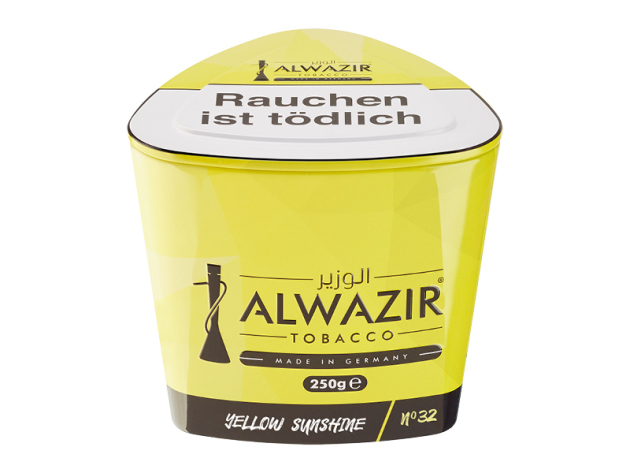 Al Wazir Tabak 250g - No. 32 YELLOW SUNSHINE