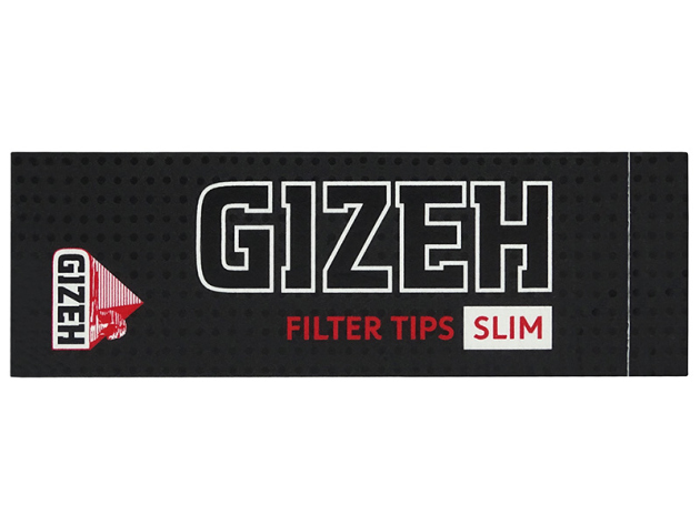 Gizeh Black Filter Tips Slim 24 Hefte je 35 Blatt