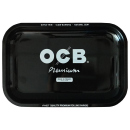 OCB Tablett Premium MetalTray Black-  Medium