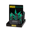 Clipper Metal Large Leaves Green, 12er Display