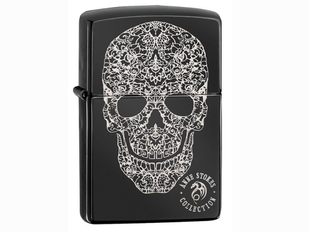 Zippo Feuerzeug - Anne Stokes Collection  Skull
