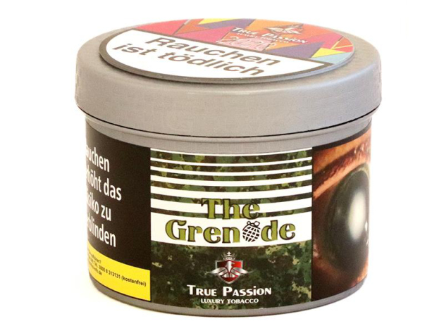 True Passion Tobacco - The Grenade ( Amaretto, Vanille, Zitrone) - 200g