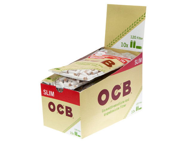 OCB Organic Slim Filter 10 Beutel je 120 Filter