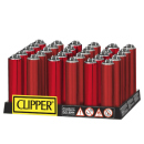 Clipper Micro Metal Cover RED DEVIL, 30er Display