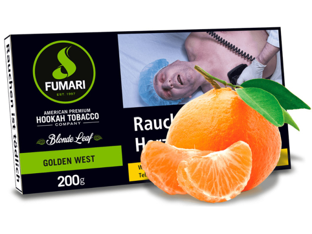 Fumari - Golden West (Mandarine) - 200g