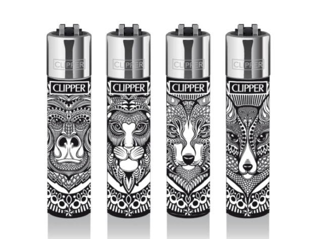 Clipper Large Tattoo ANIMALS, 48er Display