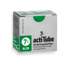 actiTube Slim Aktivkohlefilter 7mm 50er Pack