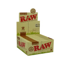 RAW Organic Hemp King Size Slim 50 Hefte je 32 Blatt