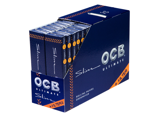 OCB KS Ultimate Slim 32 Hefte je 32 Blatt + Tips